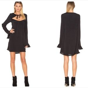 For Love and Lemons Josephine Swing Dress Black